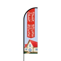 Open House Flex Banner Flag - 14 (Single Sided)