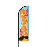 Hot Summer Sale Flex Banner Flag - 14 (Single Sided)