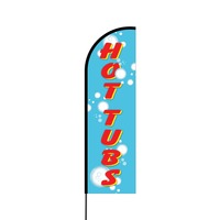 Hot Tubs Flex Banner Flag - 14 (Single Sided)