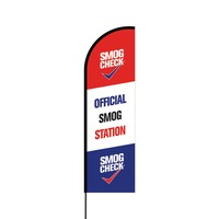 Official Smog Station Flex Banner Flag - 14 (Single Sided)