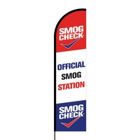 Official Smog Station Flex Banner Flag - 16ft (Single Sided)