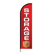 Storage Flex Banner Flag - 16ft (Single Sided)