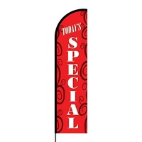 Today's Special Flex Banner Flag - 16ft (Single Sided)