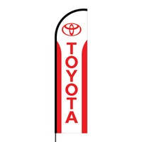 Toyota Flex Banner Flag - 16ft (Single Sided)