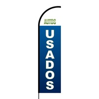 Autos Usados Flex Banner Flag - 16ft (Single Sided)