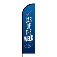 Car of the Week Flex Banner Flag - 16ft (Single Sided)