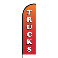 Trucks Flex Banner Flag - 16ft (Single Sided)