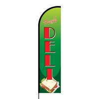 Fresh Deli Flex Banner Flag - 16ft (Single Sided)