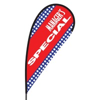 Manager's Special Flex Blade Flag - 09' Single Sided