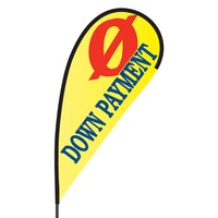 0 Down Payment Flex Blade Flag - 09' Single Sided