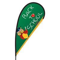 Back to School Flex Blade Flag - 09' Single Sided