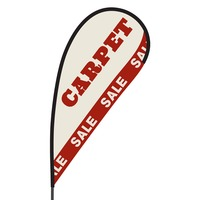 Carpet Sale Flex Blade Flag - 09' Single Sided