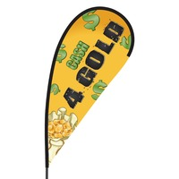 Cash 4 Gold Flex Blade Flag - 09' Single Sided