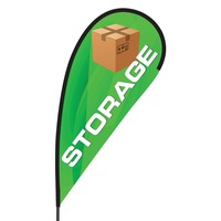 Storage Flex Blade Flag - 09' Single Sided