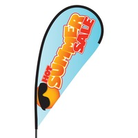 Hot Summer Sale Flex Blade Flag - 09' Single Sided