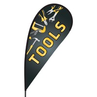 Tools Flex Blade Flag - 09' Single Sided