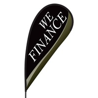 We Finance Flex Blade Flag - 09' Single Sided