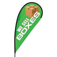 We Sell Boxes Flex Blade Flag - 09' Single Sided