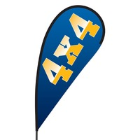 4 x 4 Flex Blade Flag - 09' Single Sided
