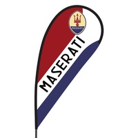 Maserati Flex Blade Flag - 09' Single Sided