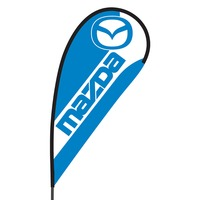 Mazda Flex Blade Flag - 09' Single Sided