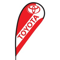 Toyota Flex Blade Flag - 09' Single Sided