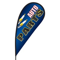 Auto Parts Flex Blade Flag - 09' Single Sided