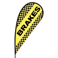 Brakes Flex Blade Flag - 09' Single Sided