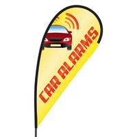 Car Alarms Flex Blade Flag - 09' Single Sided