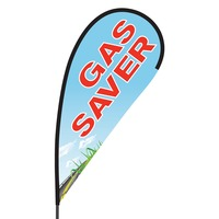 Gas Saver Flex Blade Flag - 09' Single Sided