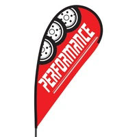 Performance Flex Blade Flag - 09' Single Sided