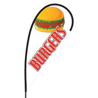 Burgers Flex Blade Flag - 09' Single Sided