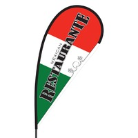 Mexican Restaurant Flex Blade Flag - 09' Single Sided