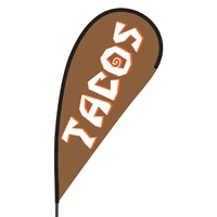 Tacos Flex Blade Flag - 09' Single Sided