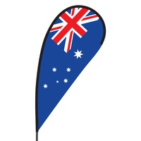 Australia Flex Blade Flag - 09' Single Sided