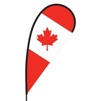 Canada Flex Blade Flag - 09' Single Sided