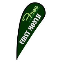 Free First Month Flex Blade Flag - 12'