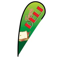 Fresh Deli Flex Blade Flag - 12'