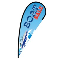 Boat Sale Flex Blade Flag - 12'