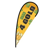 Cash 4 Gold Flex Blade Flag - 12'