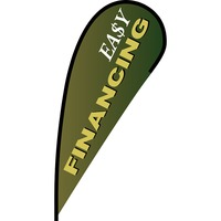 Easy Financing Flex Blade Flag - 12'