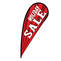 Holiday Sale Flex Blade Flag - 12'