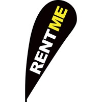 Rent Me Flex Blade Flag - 12'