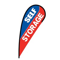Self Storage Flex Blade Flag - 12'