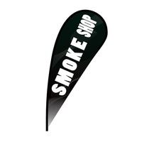 Smoke Shop Flex Blade Flag - 12'