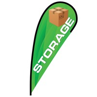 Storage Flex Blade Flag - 12'
