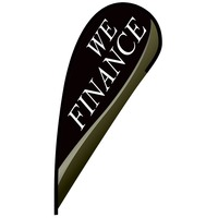 We Finance Flex Blade Flag - 12'