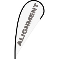 Alignment Flex Blade Flag - 12'