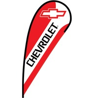 Chevrolet Flex Blade Flag - 12'