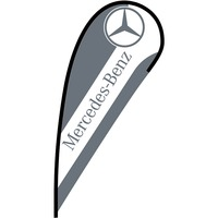 Mercedes Flex Blade Flag - 12'